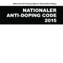 Vorschau Nationaler Anti-Doping-Code 2015