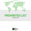 Vorschau The WADA 2018 Prohibited List
